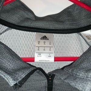 Adidas half zip jacket. Size XL